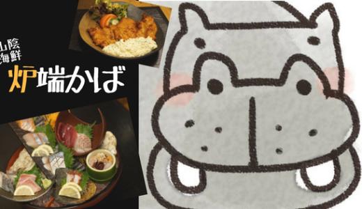 【炉端かば(湖山店)】気軽に山陰の食材を楽しめる飲み屋さん!/鳥取市
