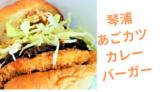 【琴浦あごカツカレーバーガー】鳥取で一番ご当地バーガーらしいバーガー!/琴浦町