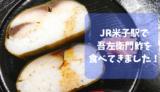 【吾左衛門鮓】老舗の味!JR駅ナカで高級鯖寿司食べてきました/米子市