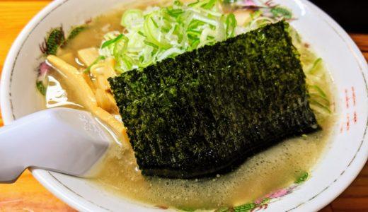 【麺屋八兵衛】地元で人気!スッキリな味の牛骨ラーメン店/倉吉
