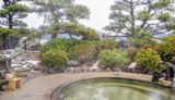 【養生館】東郷湖畔の庭園内にある露天風呂の開放感!/湯梨浜